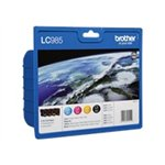 Image de Brother LC985VALBP - Pack Noir + 3 Couleurs