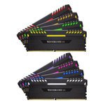 Image de Corsair DDR4 Vengeance RGB Series 128 Go PC30400 - 8x 16 Go