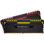 Image de Corsair DDR4 Vengeance RGB Series 16 Go PC32000 - 2x 8 Go