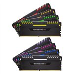 Image de Corsair DDR4 Vengeance RGB Series 64 Go PC30400 - 8x 8 Go