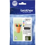 Image de Brother LC3217VAL - Pack Noir + 3 Couleurs