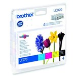 Image de Brother LC970VALBP - Pack Noir + 3 Couleurs